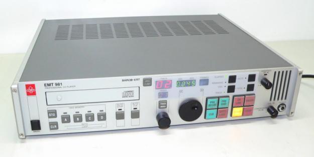 EMT 981 High-End Studio CD-Player Professional BARCO-EMT - XXL-Bilder (928)