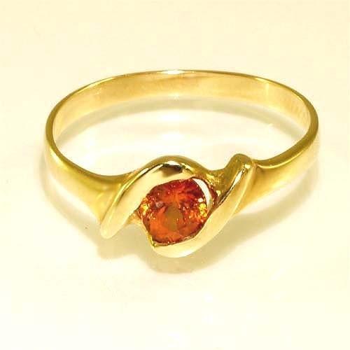 Gold Ring mit Edelstein  Goldschmuck Juwelier online