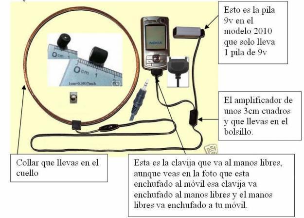 Kopfhörer-Spion die bessere Tests. Anderes Modell Post bis 2010 alle über Spanien