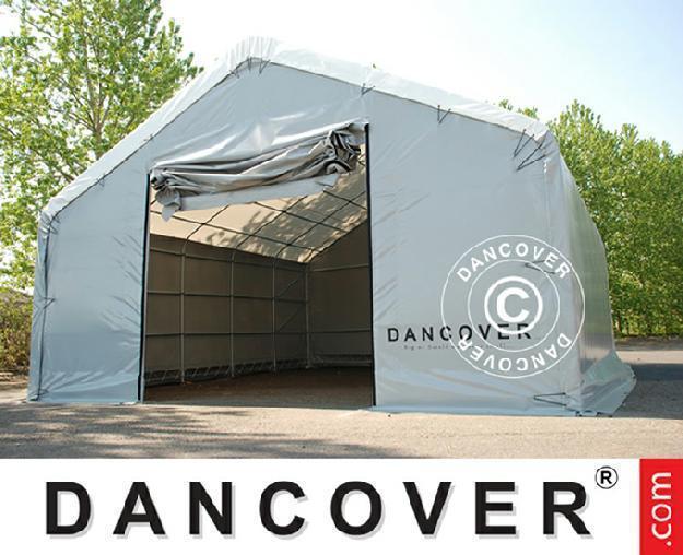 Lagerzelt Dancover 8x15x3x5 m Titanium