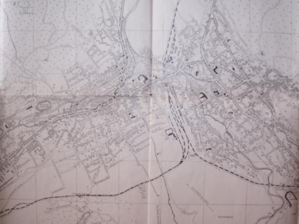 Mapa de Berlin de 1955