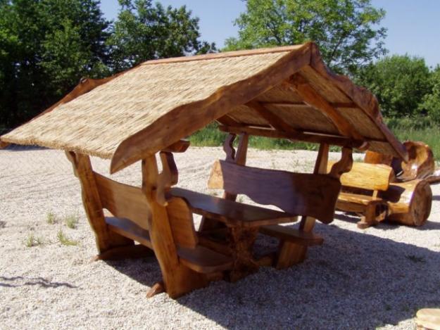 Pavillion aus Holz, Gartenpavillon