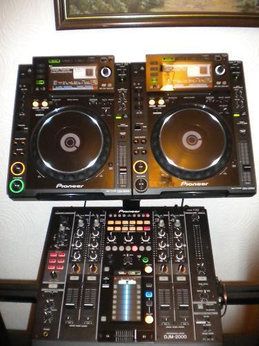 pioneer cdj and djm 2000 professional set up