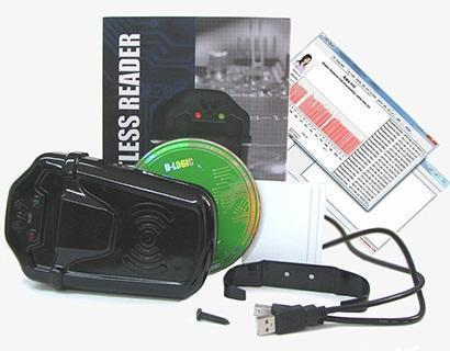 Zeiterfassung-System 13,56 RFID Mifare ID-Karte - Kein Kabel, FREE SOFTWARE + SDK