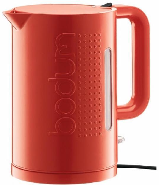 Bodum elektrischer Wasserkocher BISTRO, 1,5 l, rot (H.Nr.11138-294EURO)