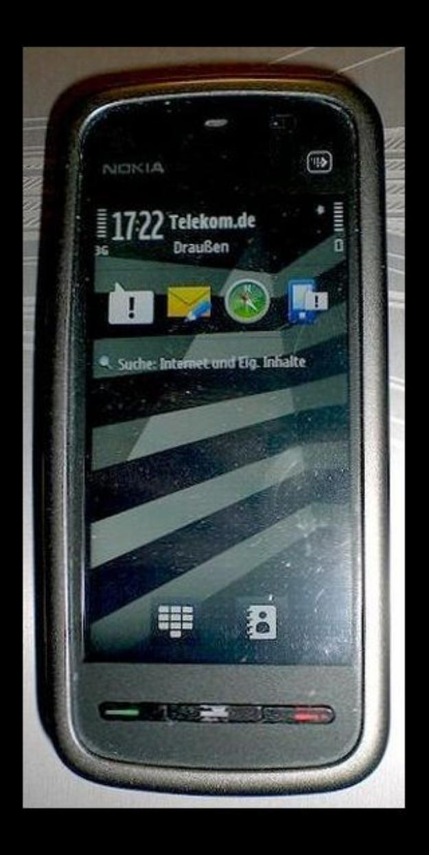 Nokia 5230 - Schwarz (Ohne Simlock)