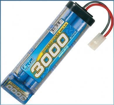 LRP Power Pack 3000 - 8.4V - 7-Zellen NiMH Stickpack MH Stickpack